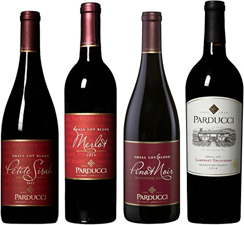 Parducci Wine Cellars Classic Red Wine Mixed Pack, 2nd Edition, 4 x 750 mL