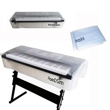 HomDSim - Funda para teclado de piano, resistente al polvo ...