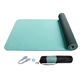 Colchonetas de ejercicio ZJ Estera de Yoga Antideslizante de ...