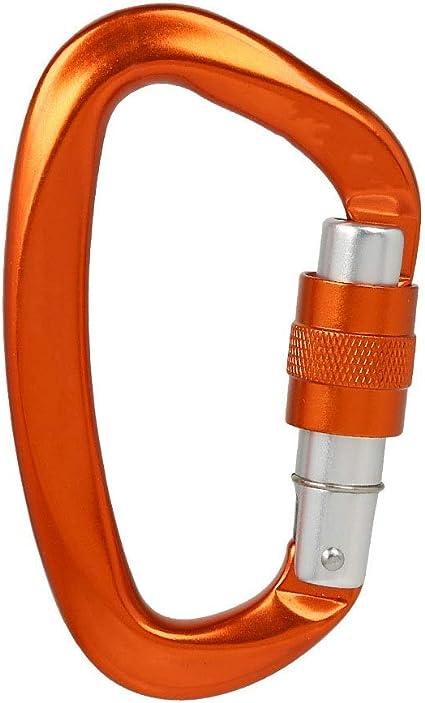 MOMIN Carabiners Escalada 3 mosquetón Gancho de Aluminio de ...