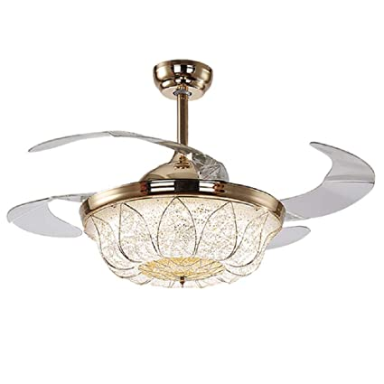 Lighting Groups 42 Inch Modern Ceiling Fans With Lights Remote