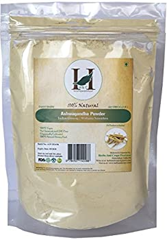 H&C 100% Natural Ashwagandha Root Powder / Indian Ginseng (Withania Somnifera) 227 g (1/2 LB) Processed in FDA Registered Facility ( AN 100% Natural Herbal Supplement )