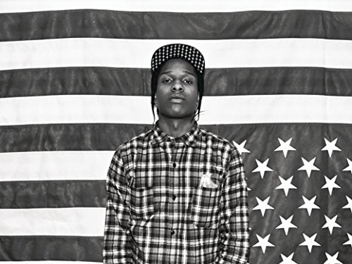 Asap Rocky Nice Silk Fabric Cloth Wall Poster Print