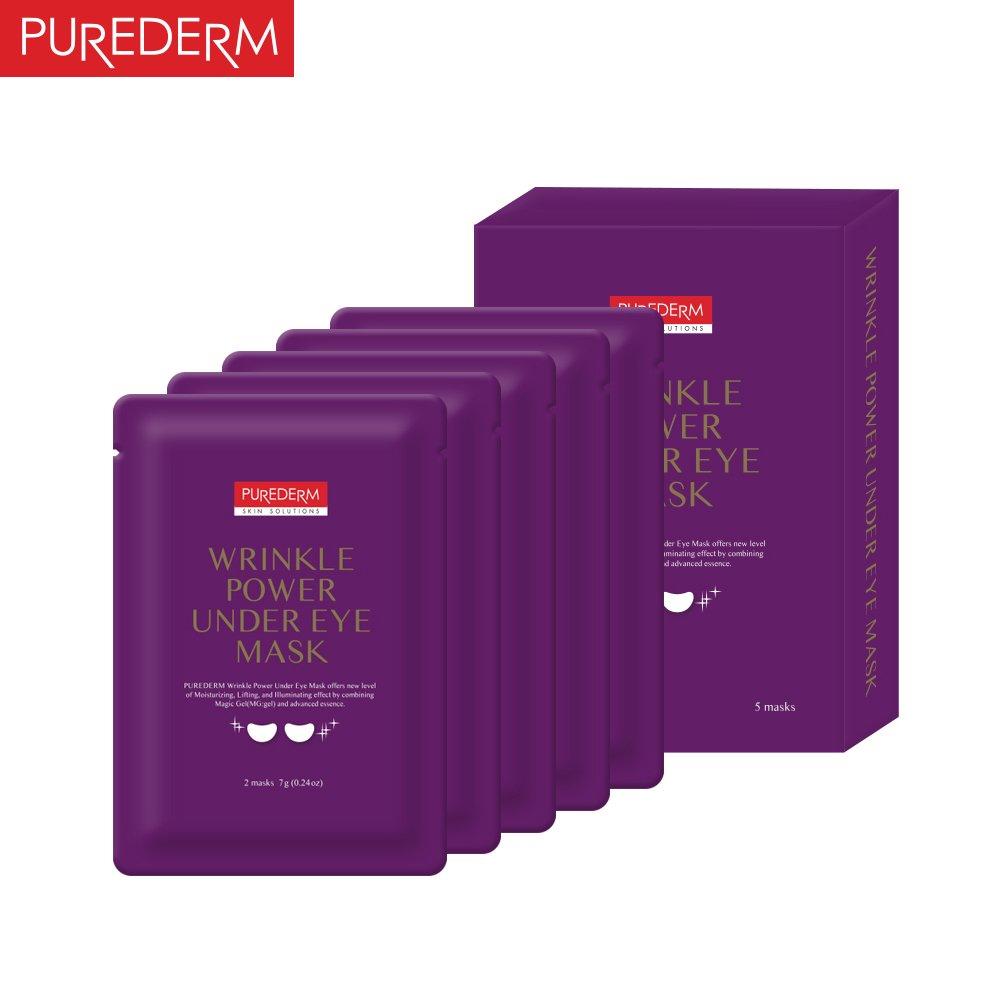 Purederm Wrinkle Power Under Eye Mask5masks Beauty Mask