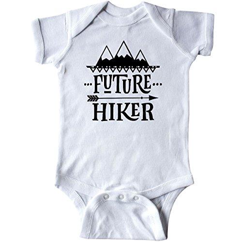 inktastic Future Hiker Kids Hiking Infant Creeper 6 Months White