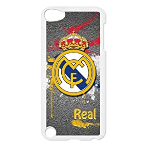 Ipod Touch 5 Custom Cell PhoneCase Real Madrid FC Logo Case Cover WWPF35366