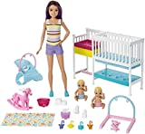 Barbie Nursery Playset with Skipper Babysitters