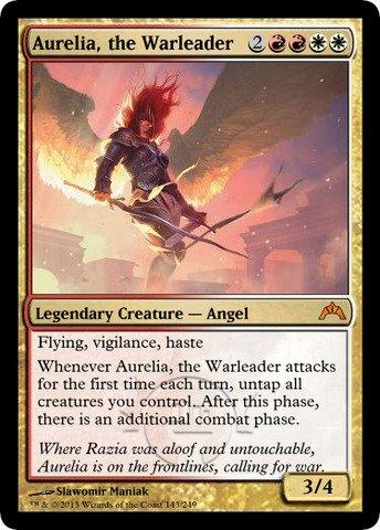 Magic: the Gathering - Aurelia, the Warleader (143) - Gatecrash