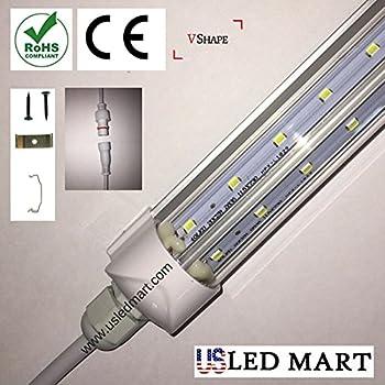 V Shape Double PCB LED Cooler Tube Light - 5ft 32w - 45 Degree