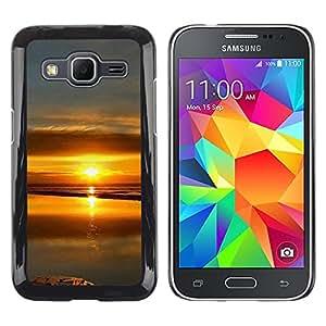 Be Good Phone Accessory // Dura Cáscara cubierta Protectora Caso Carcasa Funda de Protección para Samsung Galaxy Core Prime SM-G360 // Sunset Beautiful Nature 99