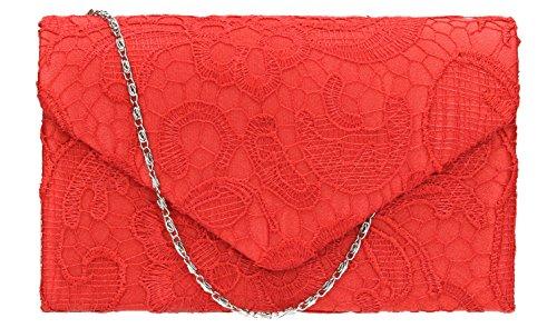 Rose femme SwankySwans Rose rouge Pochette pour corail tEEqZ6vwO
