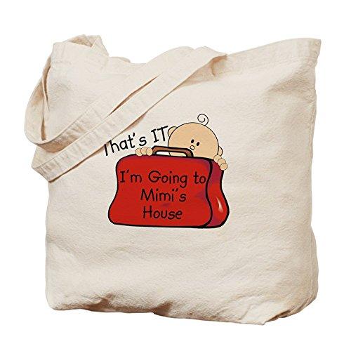 CafePress–Va a Mimi de Funny–Gamuza de bolsa de lona bolsa, bolsa de la compra