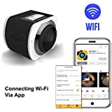 360° Panoramic 16MP VR Camera 1440P/30fps Ultra HD DV Camcorder, WIFI Control by APP with 30M Waterproof Depth