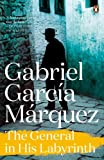Front cover for the book The General in His Labyrinth by Gabriel Garcia Marquez