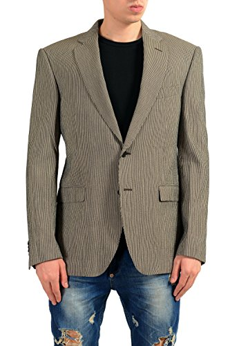 ETRO Men's Striped Two Button Blazer Sport Coat US 40 IT 50