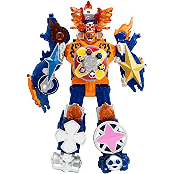 Power Rangers Super Ninja Steel Megazord Figure, Blaze Megazord