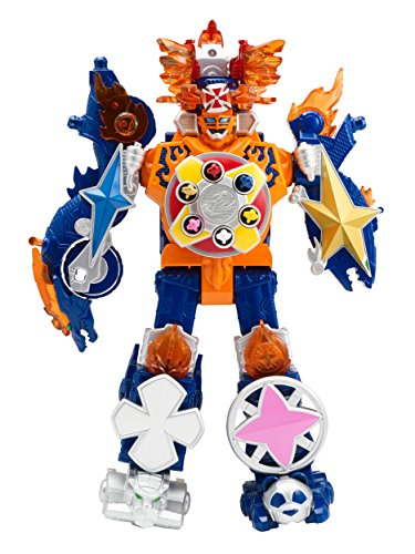 Power Rangers Super Ninja Steel Megazord Figure, Blaze -