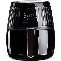 Crux 2.2 Qt. Touchscreen Air Convection Fryer (Black)