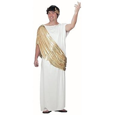 Amazon.com: Para hombre adulto griego Senator disfraz ...