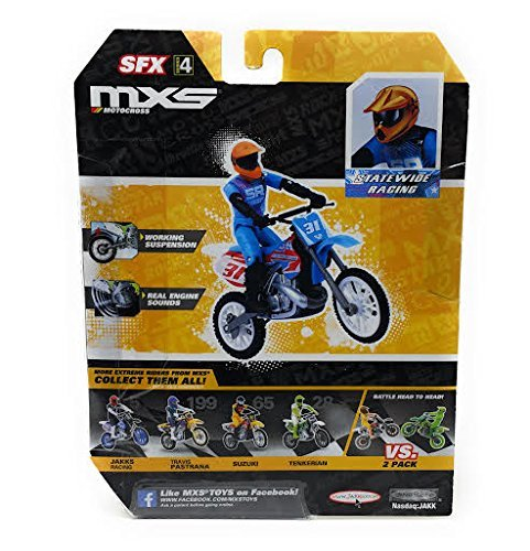 MXS Boys Statewide Racing Street Bike & Rider SFX Set by MXS (Image #2)