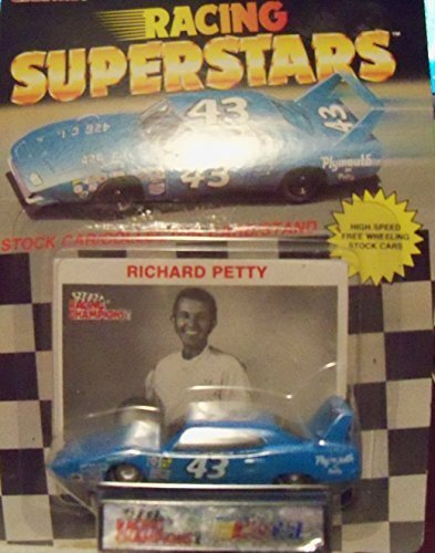 NASCAR RICHARD PETTY 1:64 CAR 1991 AND RACING CARD by NASCAR - Richard Petty Nascar