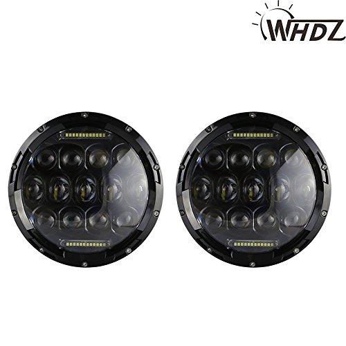 TuningPros WV-775B Window Visor Deflector Rain Guard Dark Smoke 4-pc Set