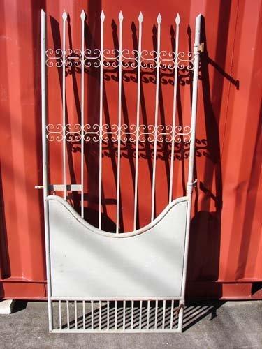 門扉 (右開口) ゲート ロートアイアン スペイン製 幅80cm INK-Amonpi7 B01GTRY28S