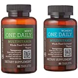 Bundle & Save - Amazon Elements Men's and Women's One Daily Multivitamins, Vegan, 65 Tablets, 2 month supply