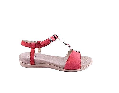 Scholl Scarpe Donna Sandali NASHIRA in Pelle Rosso F26645-1051-390   Amazon.co.uk  Shoes   Bags f930d5acca8