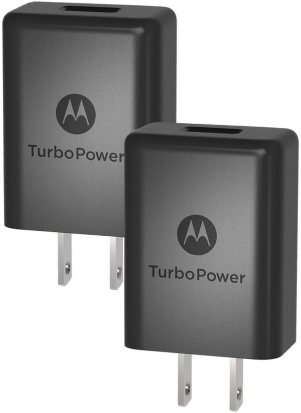 G5S G7 No Cable Z2 Play Z2 Force G6 Retail Box Z3 Play G5S Plus Z3 X4 Motorola TurboPower 15+ QC3.0 Chargers for Moto G5 Plus 2 Pack