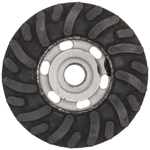 Tiger Discs Cut Altra (Weiler Tiger Back-Up Pad For Resin Fiber And AL-tra Cut Disc, 5/8-11 Thread Size, 4 Diameter by Weiler)