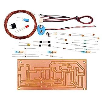 Kitsguru Diy Kit Metal Detector Lgkt082 Easy Electronic Projects