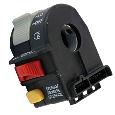 Cycling retail Left Hand Hi Lo On Off Kill Key Start Switch 4011835 for 06-14 Polaris Sportsman 400 500 700 800 (Model 1): Industrial & Scientific