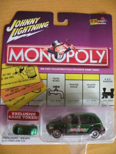 Johnny Lightning Monopoly North Carolina Ave. '01 Chrysler PT - Pt Chrysler Cruiser Cars