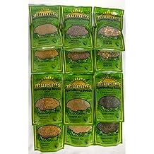 Microgreens 'Best Sellers' 2 each of: Starter pack, Alfalfa, Broccoli Brassica Blend, Crunchy Bean Mix, Spicy Lentil Crunch, Sunflower Seeds