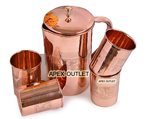 APEX OUTLET pitcher Ayurveda Embossed product image