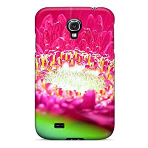 New Design Shatterproof DYzVGvQ1299meHEN Case For Galaxy S4 (pink Daisy Flower)