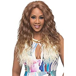 Vivica A. Fox OLIVIA-V New Futura Fiber, Deep Lace Front Wig in Color P2216