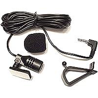 Freeauto Mic 3.5mm Micrófono Ensamble Externo Para Vehículo
