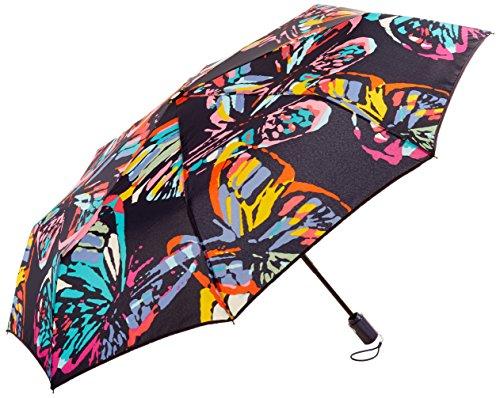 Vera Bradley Umbrella, Polyester, Butterfly Flutter, Flutt