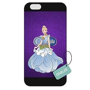 Diy For Iphone 4/4s Case Cover Disney Cinderella Diy For Iphone 4/4s Case Cover Hard Plastic - Black 02
