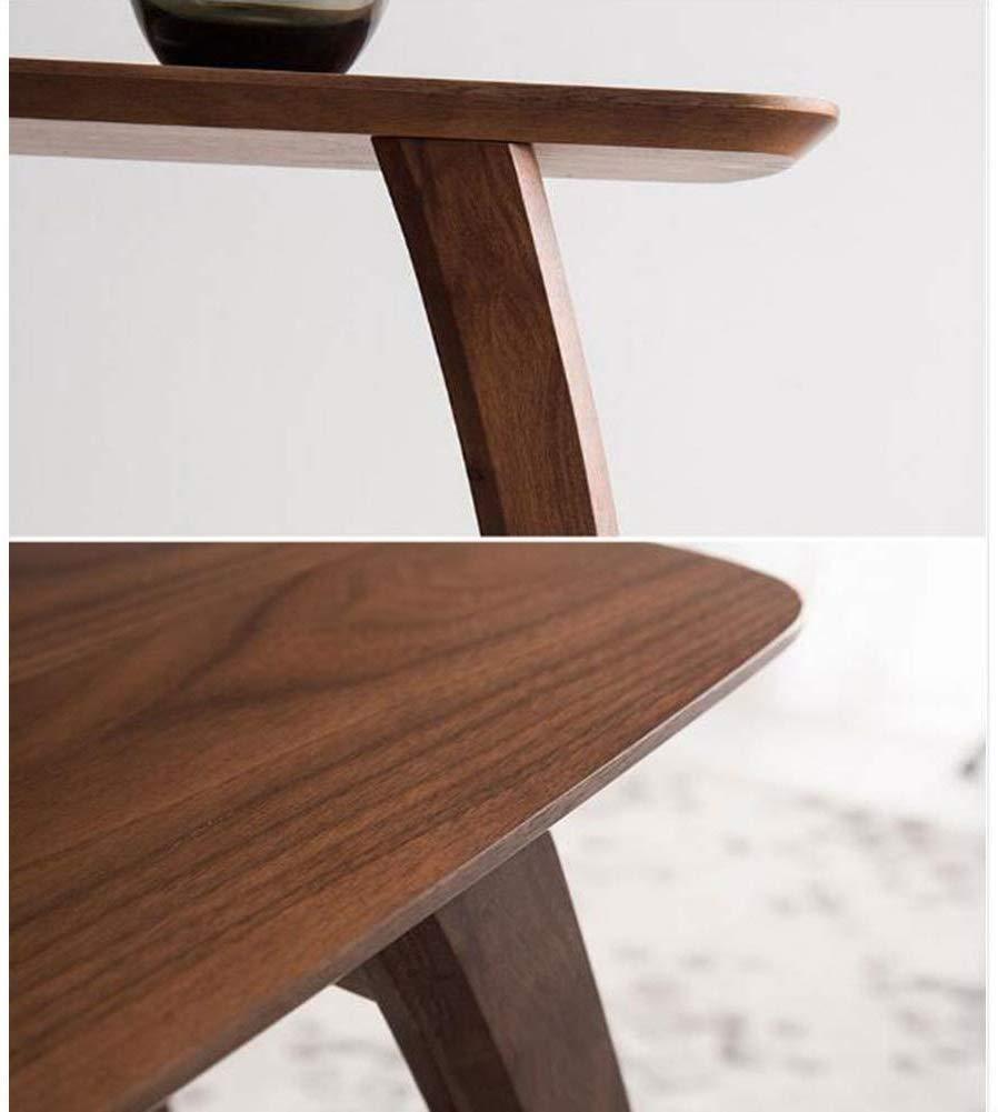 MJK Tavoli tavolino laterale Divano per laptop Comodino Divano Soggiorno in rovere,bianca