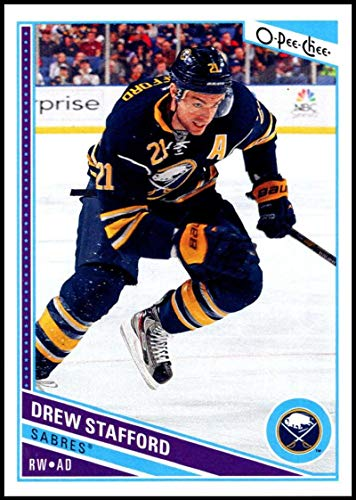 (2013-14 O-Pee-Chee Hockey #451 Drew Stafford Buffalo Sabres Official NHL Trading Card From Upper Deck)