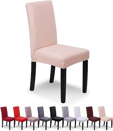 SaintderG® Fundas para sillas Pack de 4 Fundas sillas Comedor ...