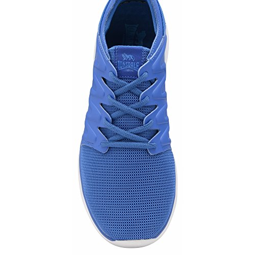 Mens Lonsdale Mens Peru Lace Sneakers Blue Lonsdale Up Lace Peru Up Trainers qHAFXnw
