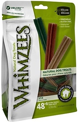 Paragon Whimzees Sticks Small/Petite Value Bag – 56 Dental Chews For Sale