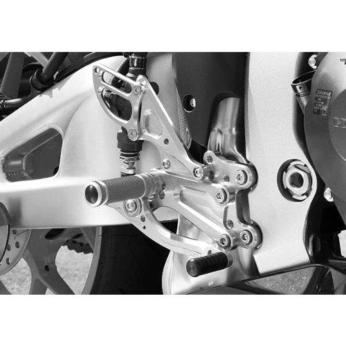Right Heel Guard Side (Sato Racing Billet Aluminum Right Side Heel Guard Anodized Silver for Honda 2013 CBR600RR (HG-CBR6-SV))