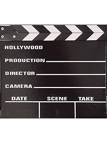 Movie Clapper Board (Director Snap Board)