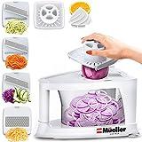 Mueller Spiral-Ultra Multi-Blade Spiralizer, 8 into 1 Spiral Slicer, Heavy Duty Salad Utensil,...