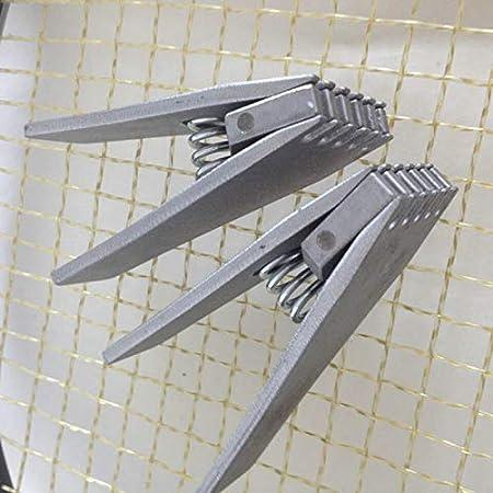 WDWBHK 2 St/ücke Tennis String Metall Fliegen Clamp Metall String Werkzeugmaschinen Badminton Geschwindigkeit Splitter Clamp Werkzeuge